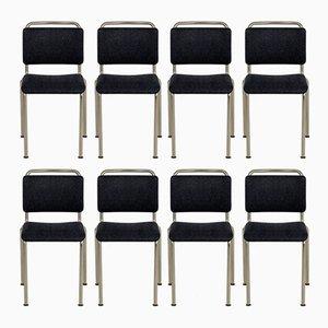Personalisierbare Modell 106 Stühle von Gispen, 1960er, 8er Set