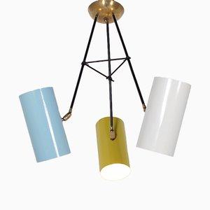 Lampe à Suspension Pivotante Moderniste, 1950s