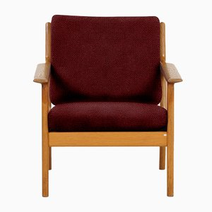 Customizable GE265 Armchair by Hans J. Wegner for Getama