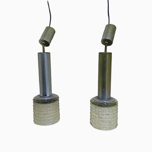 Hanging Pendant by Gaetano Sciolari, 1960s, Set of 2