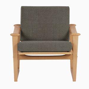 Customizable Beech Lounge Chair from Horsens Denmark, 1960s