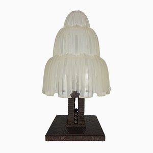 Cascade Waterfall Table Lamp by Sabino, 1925
