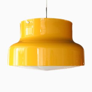 Large Vintage Bumling Hanging Lamp by Anders Pehrson for Ateljé Lyktan
