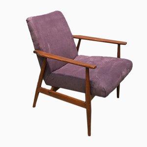 Fauteuil Lisek par Henryk Lis pour Silesian Furniture Factory, 1960s