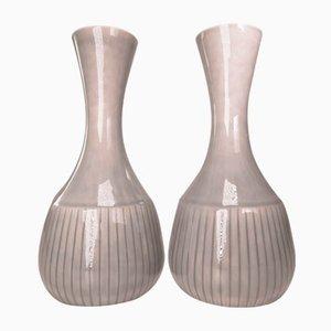 Vases par Gunnar Nylund pour Rorstrand, 1950s, Set de 2