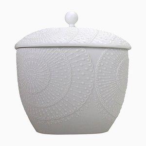 Lidded Bisque Porcelain Jar by Michaela Frey for AK Kaiser, 1960s