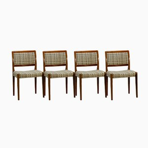 Mid-Century Swedish Dining Chairs from Troeds, 1960s, Set of 4
