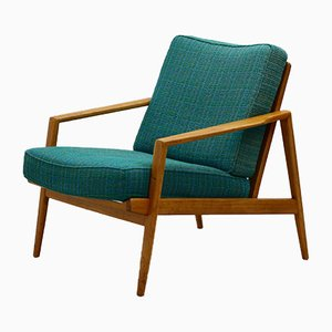 Mid-Century Lounge Chair from Knoll Antimott, 1950s