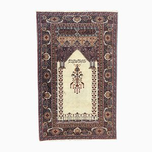 Vintage Turkish Mihrab Rug