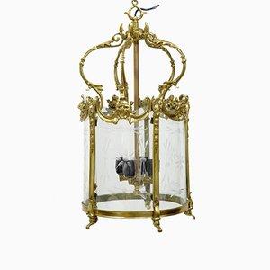 Lanterne Vintage avec Dorures, France