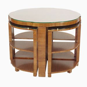 Tables Gigognes Art Deco de Harry & Lou Epstein, 1930s