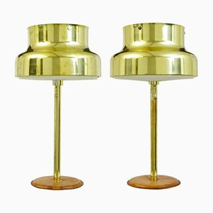 Bumling Brass Table Lamps by Anders Pehrson for Atelje Kyktan, 1960s, Set of 2
