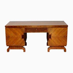 Art Deco Desk in Walnut, Germany 1930s