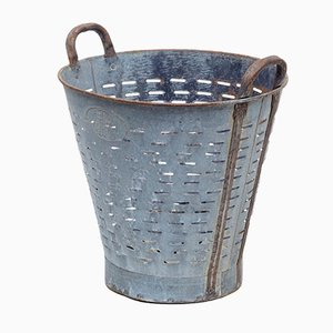 Antique Metal Basket