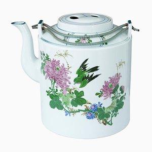 Chinesische Teekanne aus Porzellan, 1920er