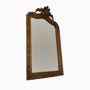 Antiker vergoldeter französischer Spiegel
