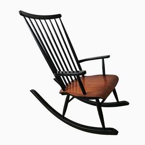Rocking Chair par Varjosen Puunjalostus pour Uusikyla, Finlande, 1970s