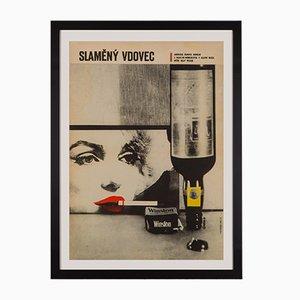 Poster del film The Seven Year Itch di Zdeněk Kaplan, Cecoslovacchia, 1964