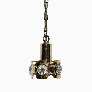 Lampe à Suspension Mid-Century, Suède, 1960s