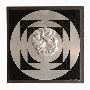 Vintage Wall Sculpture by Olle Blad, 1974