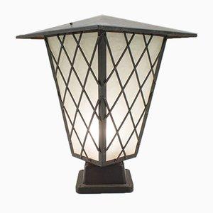 Lámpara Mid-Century grande de BEGA, años 50