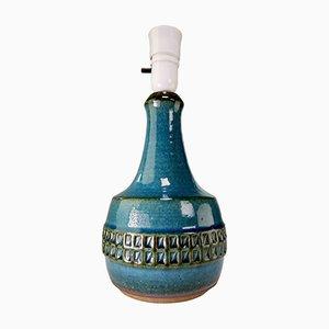 Lámpara modelo 3052 de gres azul de Joseph Simon para Søholm, años 60