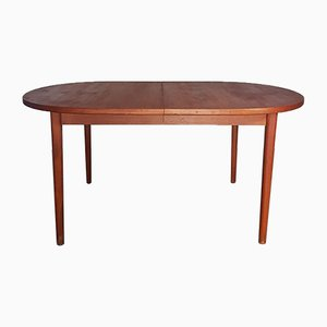 Mid-Century Danish Teak Dining Table by Nils Jonsson for Troeds Bjarnum