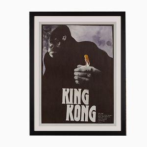 Tschechisches King Kong Filmposter von Zdeněk Vlach, 1989
