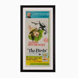 Póster australiano de la película The Birds, 1963