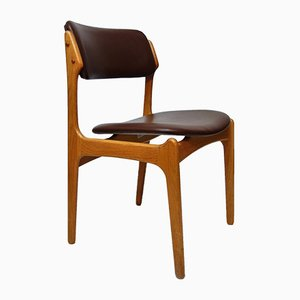 Mid-Century Model 49 Chair by Erik Buch for Oddense Maskinsnedkeri, 1960s