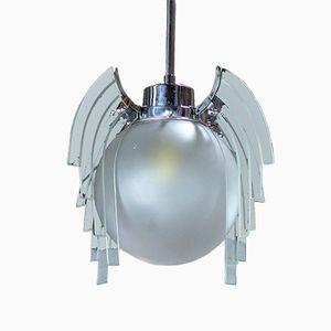 Suspension Globe Luciole Art Deco, Angleterre, 1930s