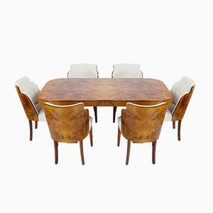 Art Deco Dining Set from Harry & Lou Epstein, 1930s