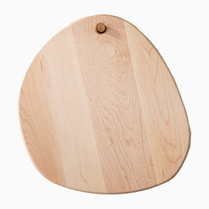 Oval Pebble Cutting Board by Noah Spencer for Fort Makers