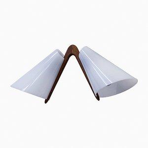 Lampadario di Uno & Osten Kristiansson per Luxus, anni '50