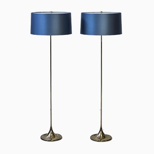 G-024 Floor Lamps by Alf Svensson & Yngvar Sandström for Bergboms, 1961, Set of 2