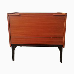 Mahogany Bar by Frantisek Mezulanik for UP Zavody, 1970s
