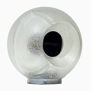 Italienische Space Age Tischlampe aus Muranoglas , 1960er