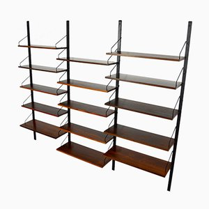 Modular Rosewood Shelving System by Poul Cadovius, 1960s