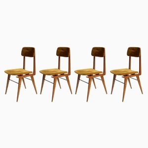 Italian Dining Chair from Elam, 1950s, Set of 4