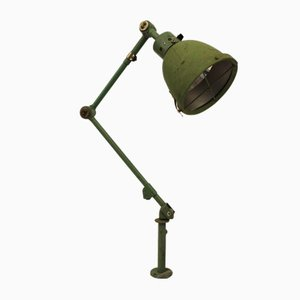 Lámpara Midgard articulada vintage con trípode