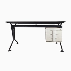 Arco Office Desk by BBPR for Olivetti Synthesis, 1960s