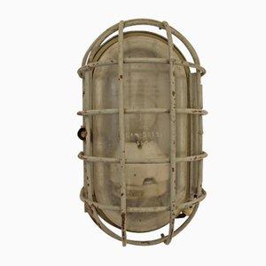 Vintage Bunker Lamp