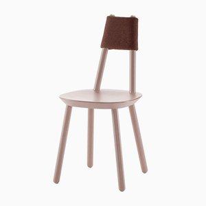 Rosafarbener Naïve Stuhl von etc.etc. für Emko