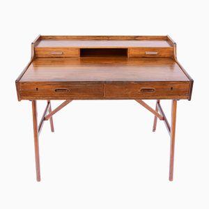Skandinavischer Rio Palisander Schreibtisch von Arne Wahl Iversen, 1960er