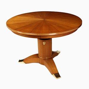 Mesa de comedor redonda de Jules Leleu, 1956
