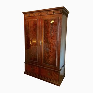 Antique Mahogany Wardrobe from Howard and Sons
