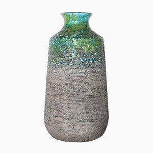 Jarrón sueco Mid-Century de cerámica