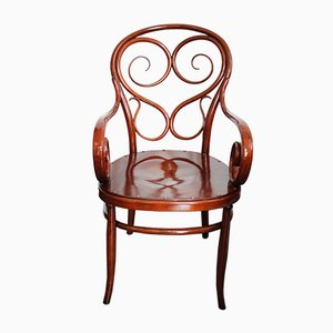Chaise de Café N°4 Antique par Michael Thonet pour Thonet