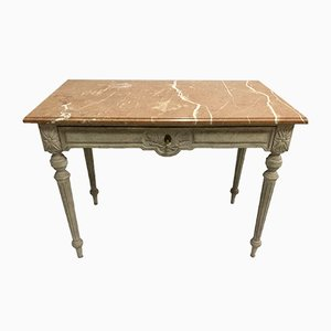 Table Console Gustavienne Antique