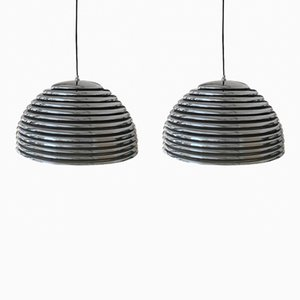 Saturno Chrome Pendants by Kazuo Motozawa for Staff, 1970s, Set of 2
